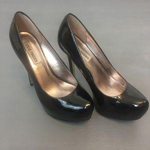 STEVE MADDEN Nala Black Platform Pump High Heels